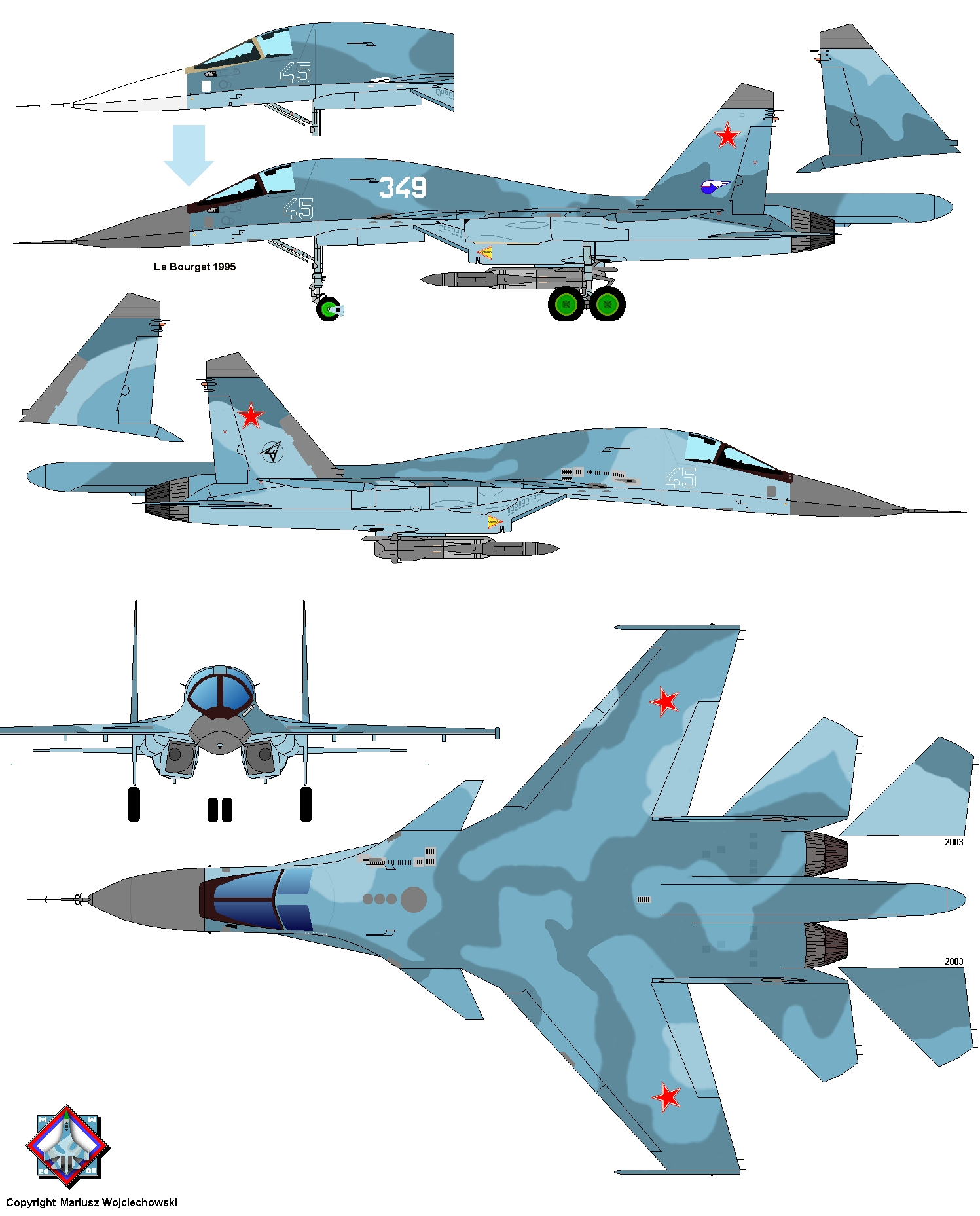 Sukhoi Su-30 Story In Colours. Sukhoi Su-30 Fighter